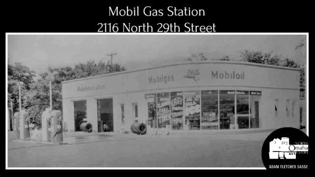 Mobil Gas Station, 2116 N 29th Street, North Omaha, Nebraska