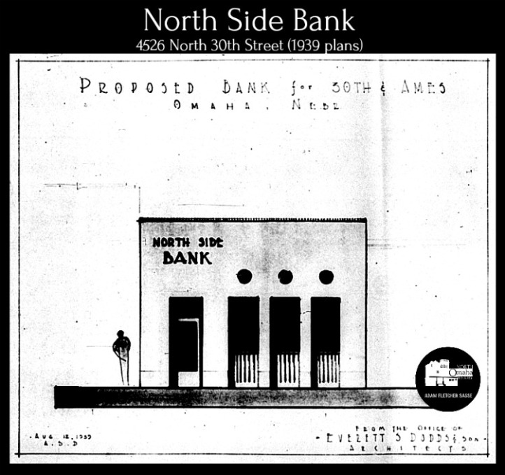 North Side Bank, 4526 North 30th Street, North Omaha, Nebraska