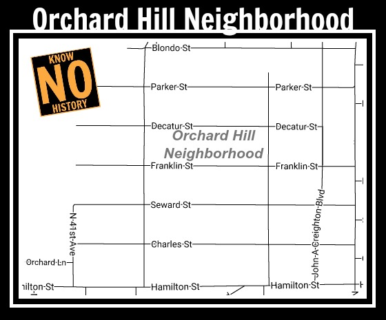 Orchard Hill Neighborhood, North Omaha, Nebraska