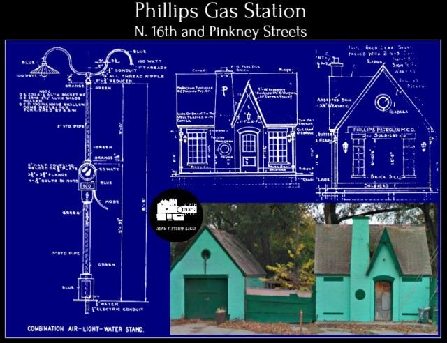 Phillips Gas Station 1929 16th and Pinkney Street North Omaha Nebraska