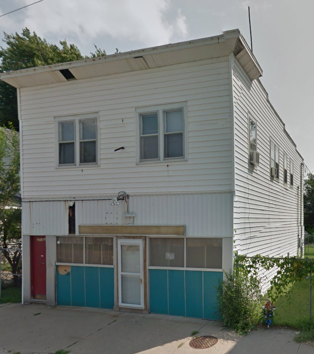 This commercial space and St. Louis Style Flats were built at 3713 N. 24th Street in 1925.