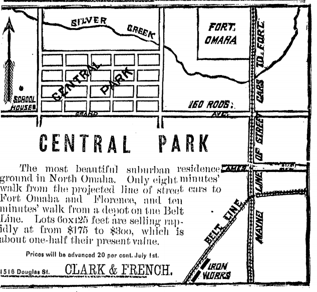 Central Park, North Omaha, Nebraska
