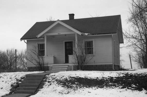 Homer O. Frohardt Jr. house, 3844 Decatur Street, North Omaha, Nebraska