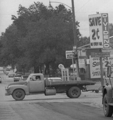 Discount Gas Station, North Omaha, Nebraska