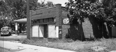 Mobil Gas Station, N. 24th and Willis, North Omaha, Nebraska
