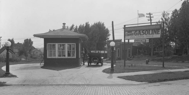 1917 Standard Oil Company Station, North 40th and Grant St Omaha Nebraska