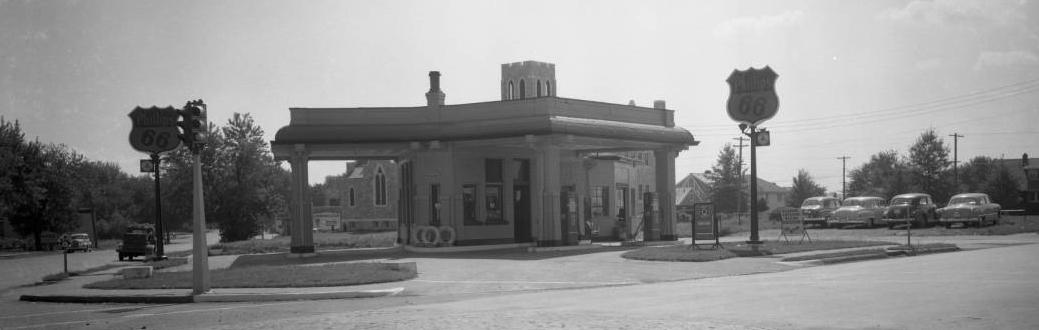 Phillips 66, North 52nd and Military Avenue, North Omaha, Nebraska