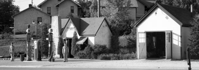 1938 Country Club Phillips 66 Gas Station, 1515 Saddle Creek Road, North Omaha Nebraska