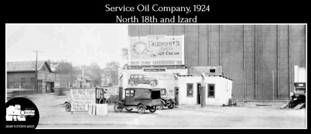 1924 Service Oil Company, North 18th and Izard Streets, North Omaha, Nebraska
