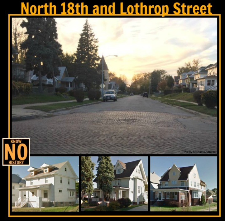 N. 18th and Lothrop St., North Omaha, Nebraska
