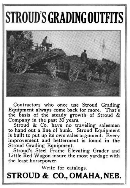 This is a 1922 ad for Stroud and Company's Little Red Wagon.