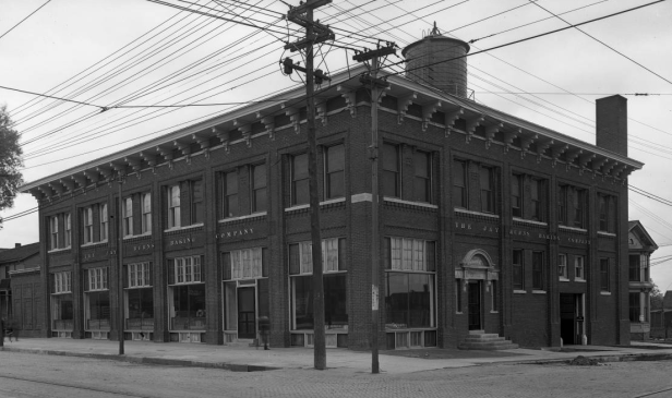 The Jay Burns Baking Company at N 20th and Cuming Streets in North Omaha