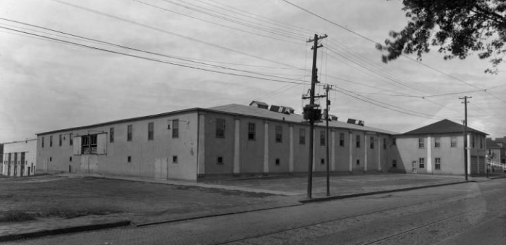 The Ak-Sar-Ben Den at North 20th and Burdette Streets, on the site of the present-day Hope Center.