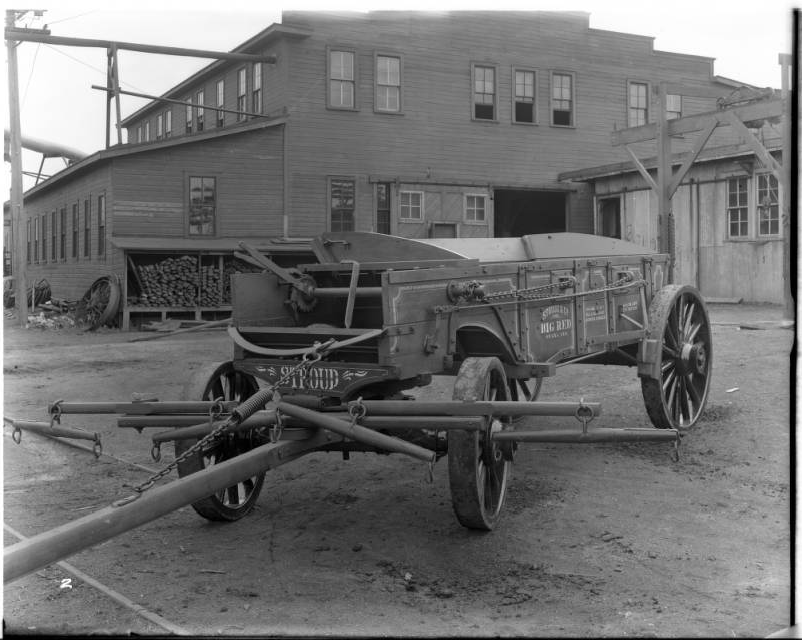 Stroud Company's Red Wagon, 4308 Commercial Avenue, Omaha, Nebraska 1916