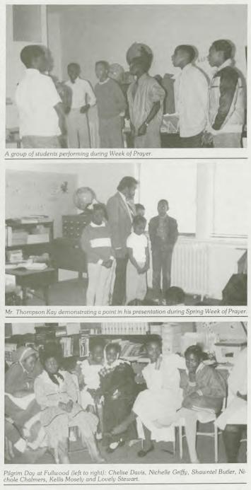 Seventh Day Adventist Church sponsored Dorthea Lake School, N. 20th and Lake Streets, North Omaha, Nebraska