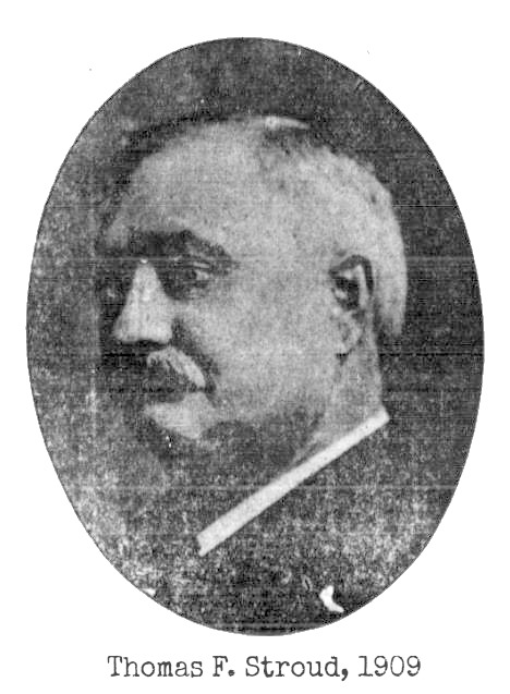 This is Thomas Frank Stroud, Omaha industrialist, from a 1909 edition of the Omaha Bee newspaper.