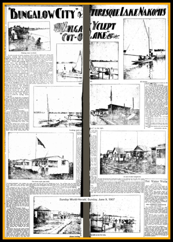 A 1909 feature from the Sunday World-Herald on Bungalow City.