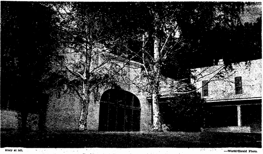 The Parker Mansion at 3012 Vane Street in the Florence Field neighborhood.