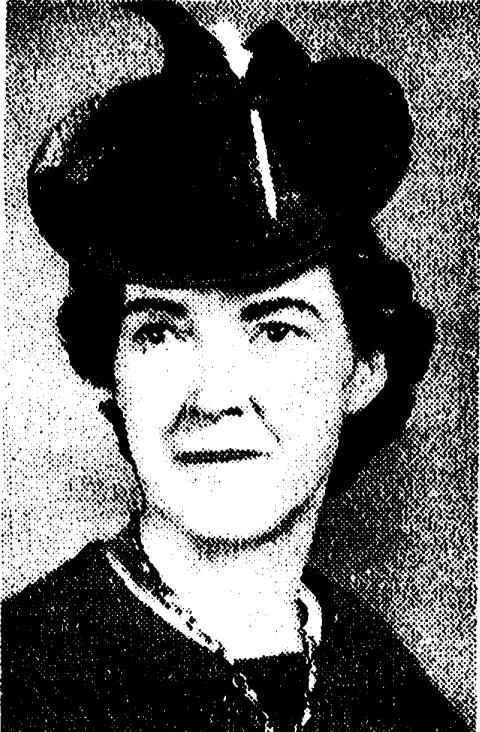 "Mrs. Delima ""Mama Mac"" McRoberts (8/10/1893 to 6/1/1963)"