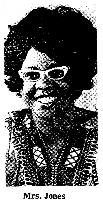 Mrs. Beverly Wead Blackburn Jones (1937 - 1973) was a youth worker, educator and champion for North Omaha.