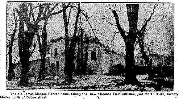 Parker Mansion, North Omaha, Nebraska (1924)