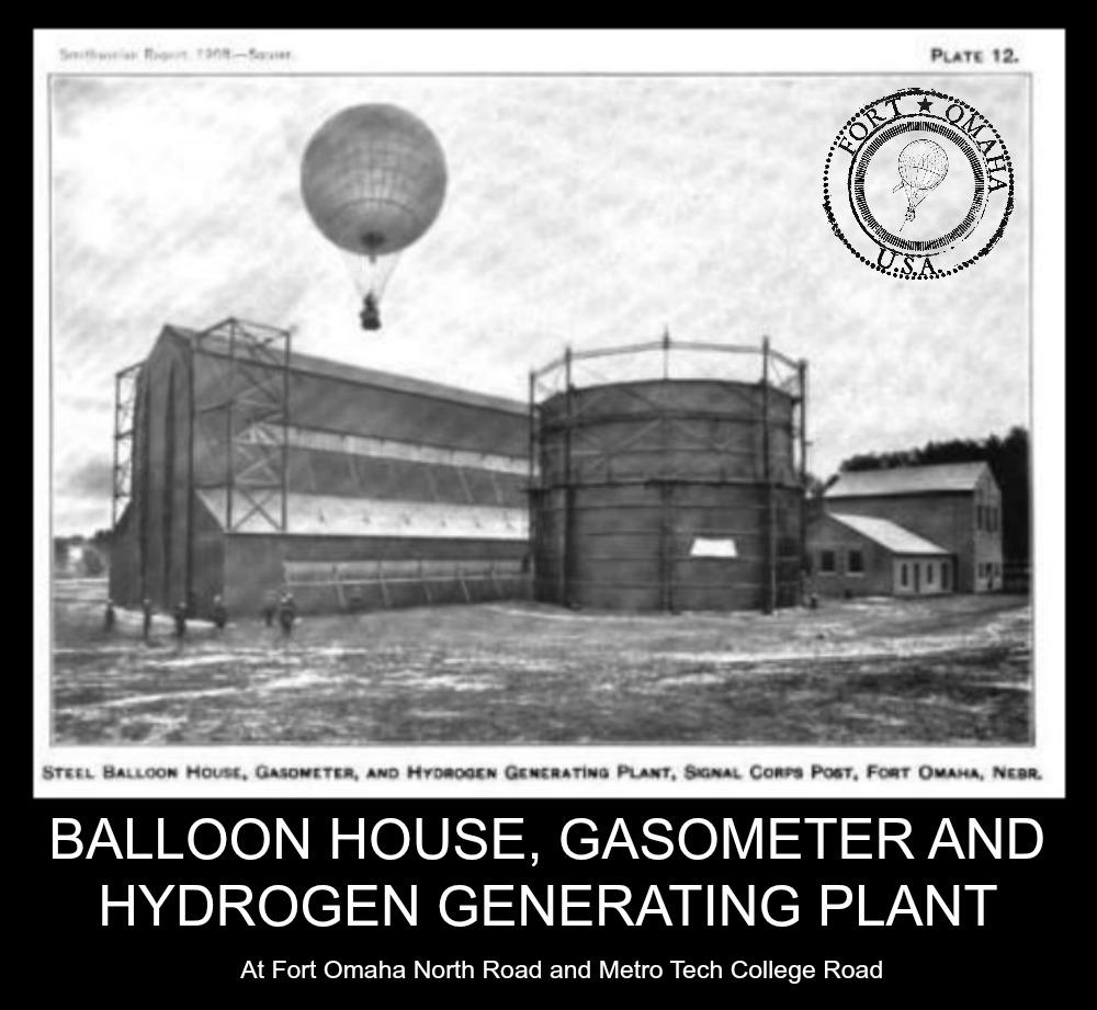 Fort Omaha Balloon House, North Omaha, Nebraska