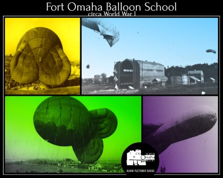 Fort Omaha Balloon School, Nebraska