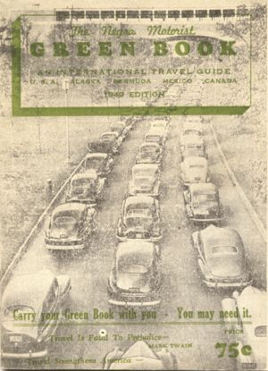 The Broadview Hotel, 2060 Florence Boulevard, was included in several editions of The Negro Motorist Green Book, including this one from 1949.