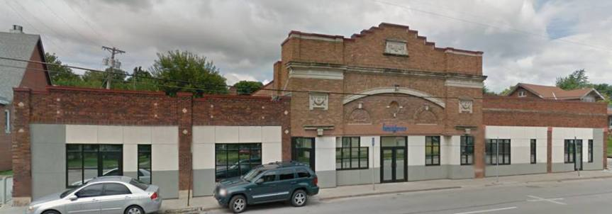 Former Minne Lusa Theatre, N. 30th and Titus, North Omaha, Nebraska