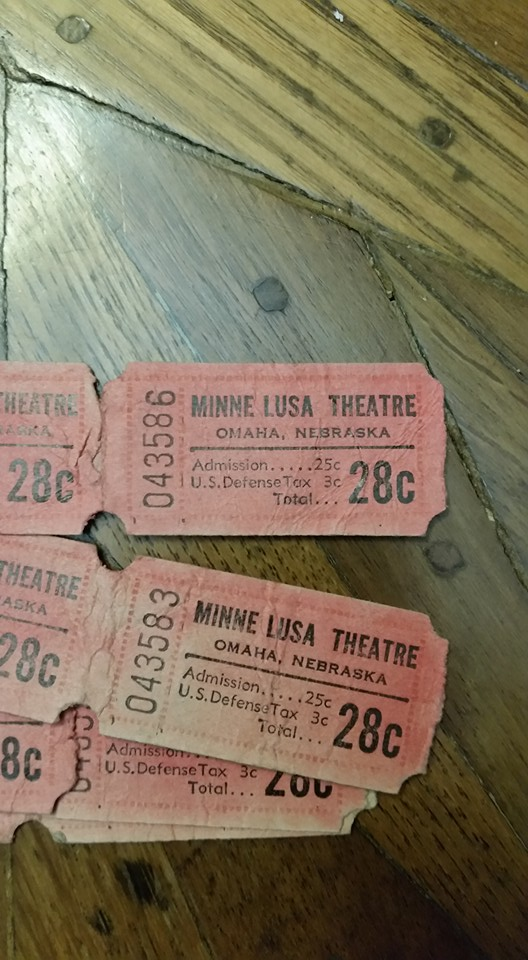 Minne Lusa Theatre, North Omaha, Nebraska
