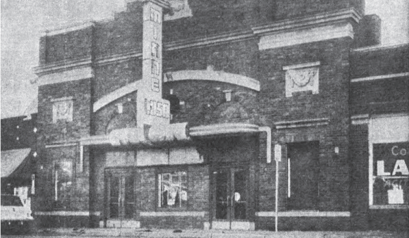 Minne Lusa Theatre in a 1950s photo.