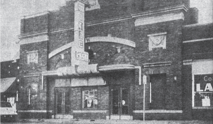 Minne Lusa Theatre in a 1950s photo.