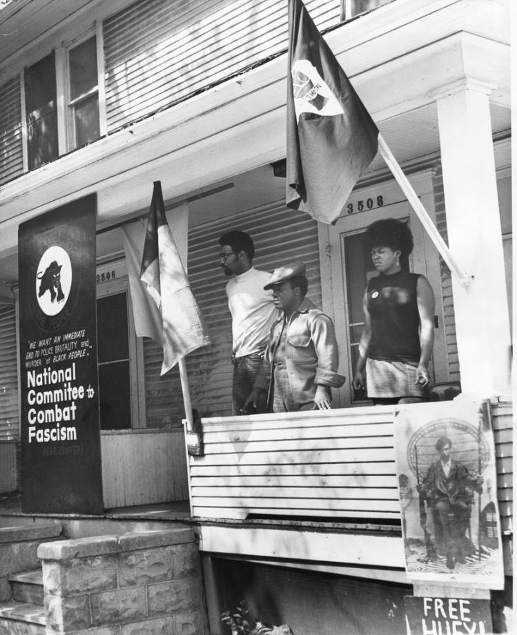 Omaha Black Panther Party Headquarters, 3508 N. 24th St., North Omaha, Nebraska