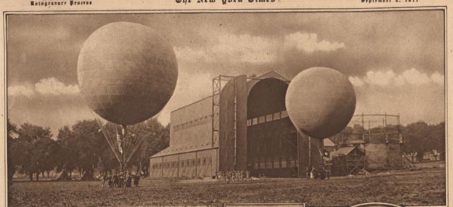 Fort Omaha Balloon School, North Omaha, Nebraska