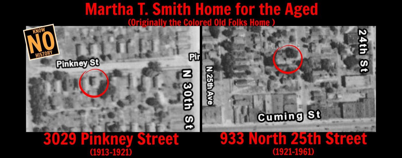 Martha T. Smith Home for the Aged, 933 N. 25th St., North Omaha, Nebraska