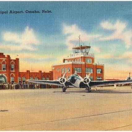 New Municipal Airport [Eppley Airfield], Omaha, Nebraska