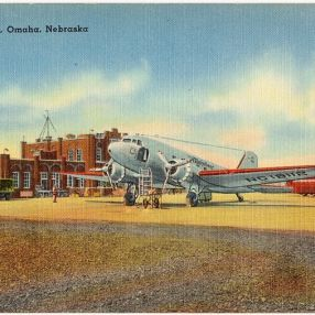 New Municipal Airport [Eppley Airfield], Omaha, Nebraska