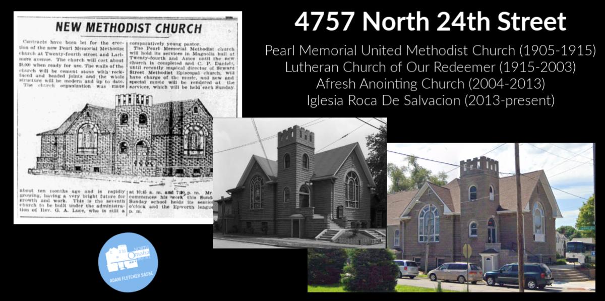 Church, 4757 North 24th Street, North Omaha, Nebraska