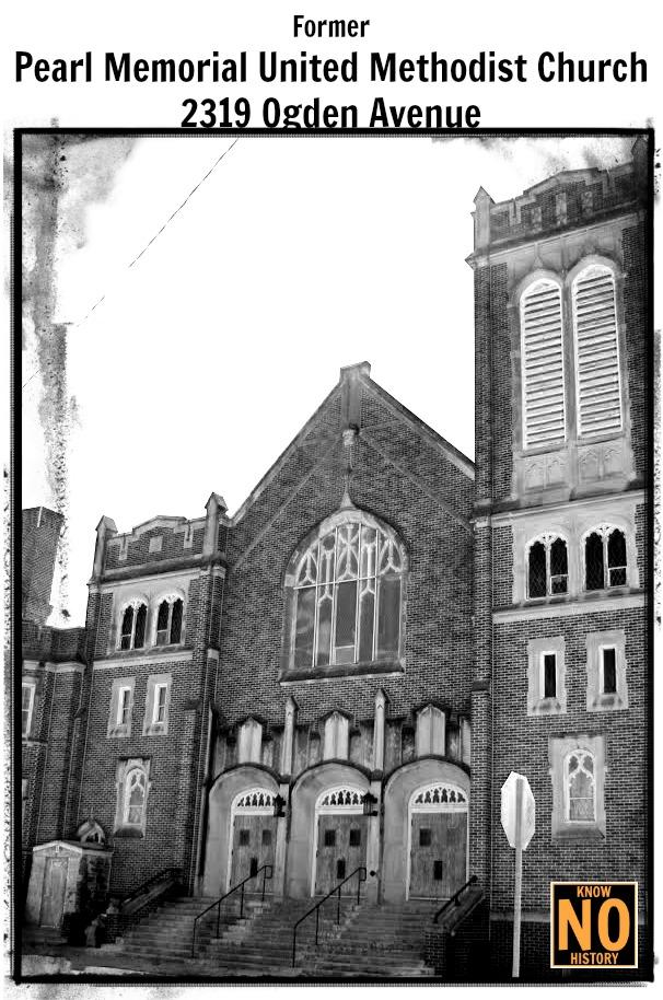 Former Pearl Memorial United Methodist Church, 2319 Ogden Ave, North Omaha, Nebraska