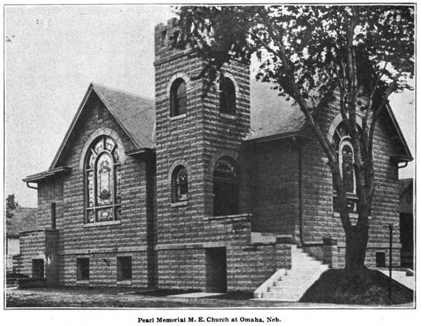 Pearl Memorial Methodist Episcopal Church, 4757 North 24th Street, North Omaha, Nebraska