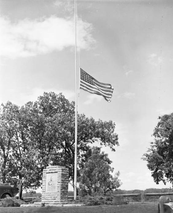 J. J. Pershing Memorial, 8200 J.J. Pershing Drive, North Omaha, Nebraska
