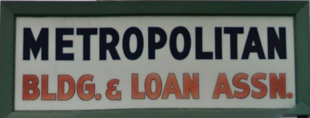 Metropolitan Building and Loan Association, North Omaha, Nebraska