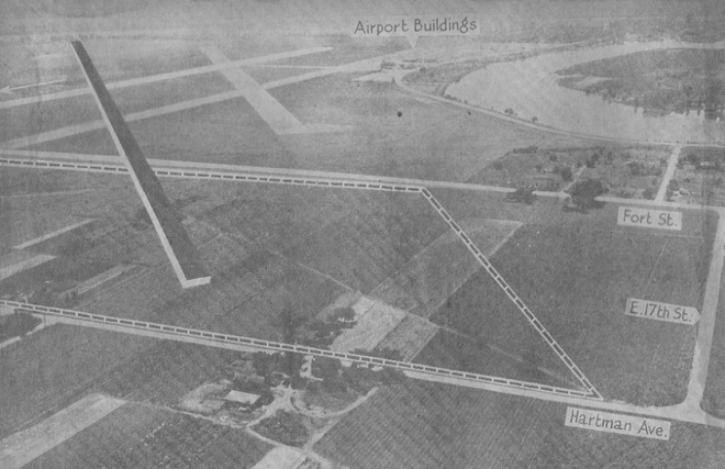 Eppley Airfield, Omaha, Nebraska from the NorthOmahaHistory.com