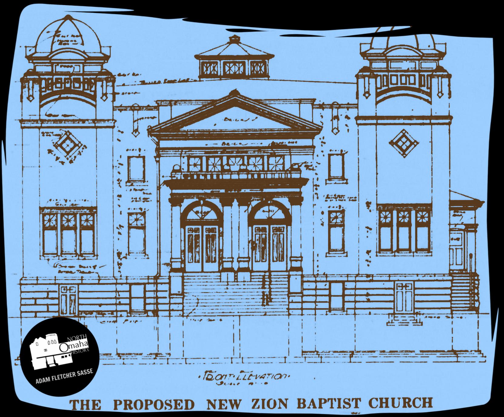 Zion Baptist Church in North Omaha, Nebraska