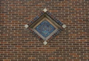 Zion Baptist Church, 2215 Grant Street, North Omaha, Nebraska by Chuck Leypoldt