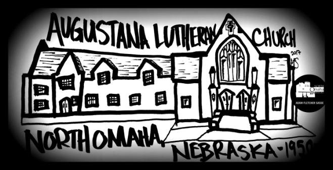 Augustana Lutheran Church, North Omaha, Nebraska by Adam Fletcher Sasse for North Omaha History