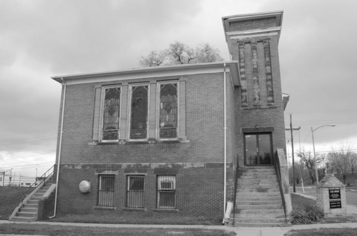 Cleaves Temple CME Church, North Omaha, Nebraska