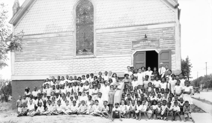 This is Hillside Presbyterian Church in 1931.