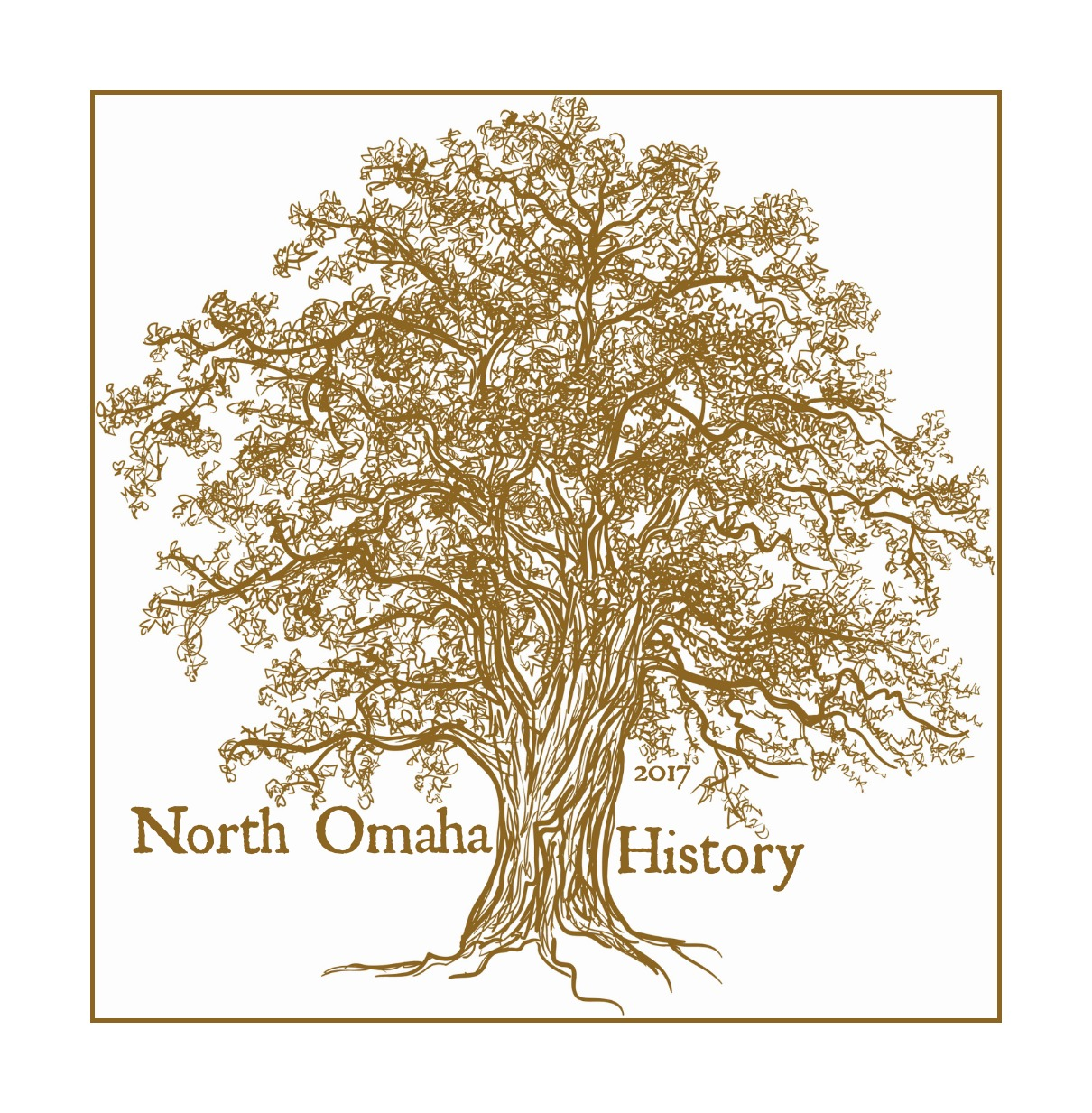 North Omaha History 2017 logo
