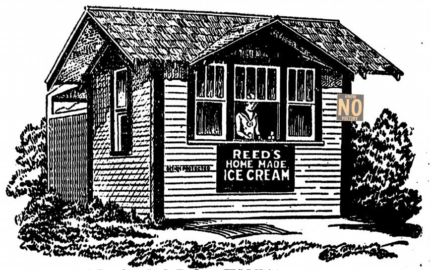 Reed's Ice Cream bungalow, Omaha, Nebraska